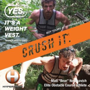 weight vest training spartan race