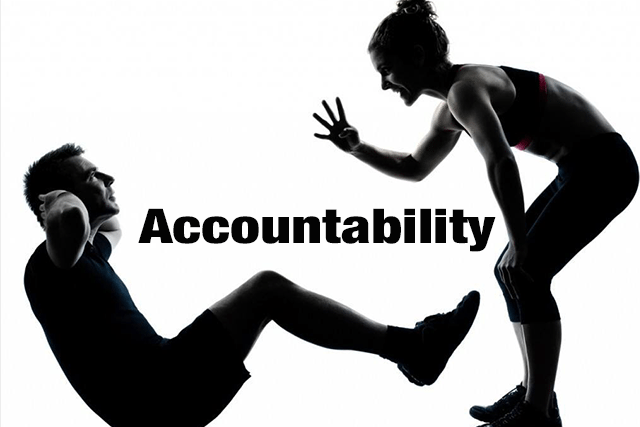 Accountability sit-up picture