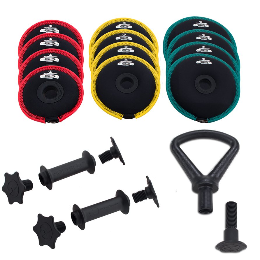 Soft DumbBell Kettlebell Set