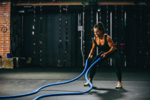 battle ropes for weight loss