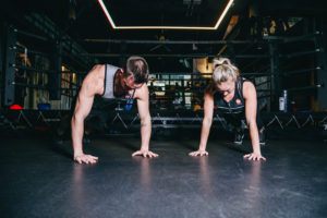 Pair workout with weight vest
